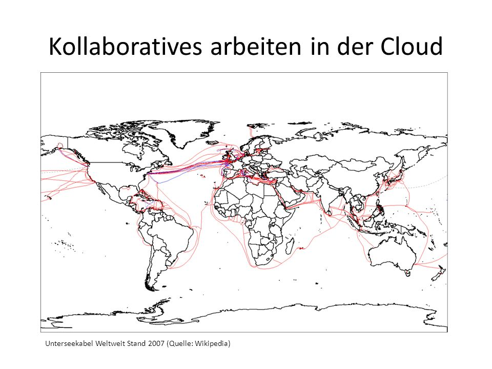 Kollaboratives arbeiten in der Cloud