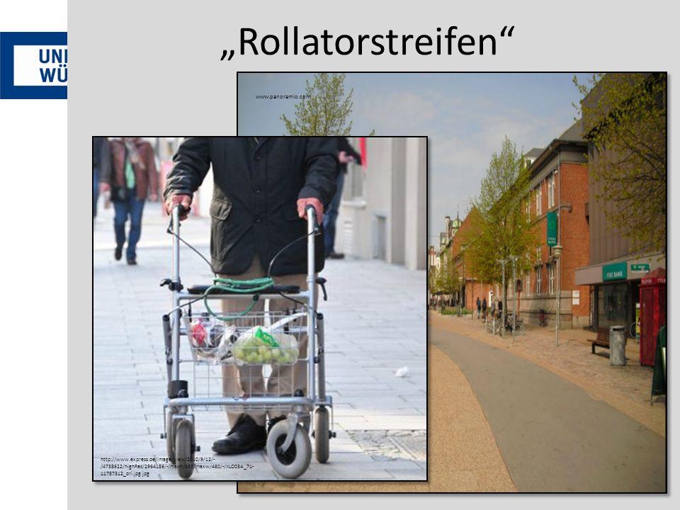 """Rollatorstreifen www.panoramio.com"