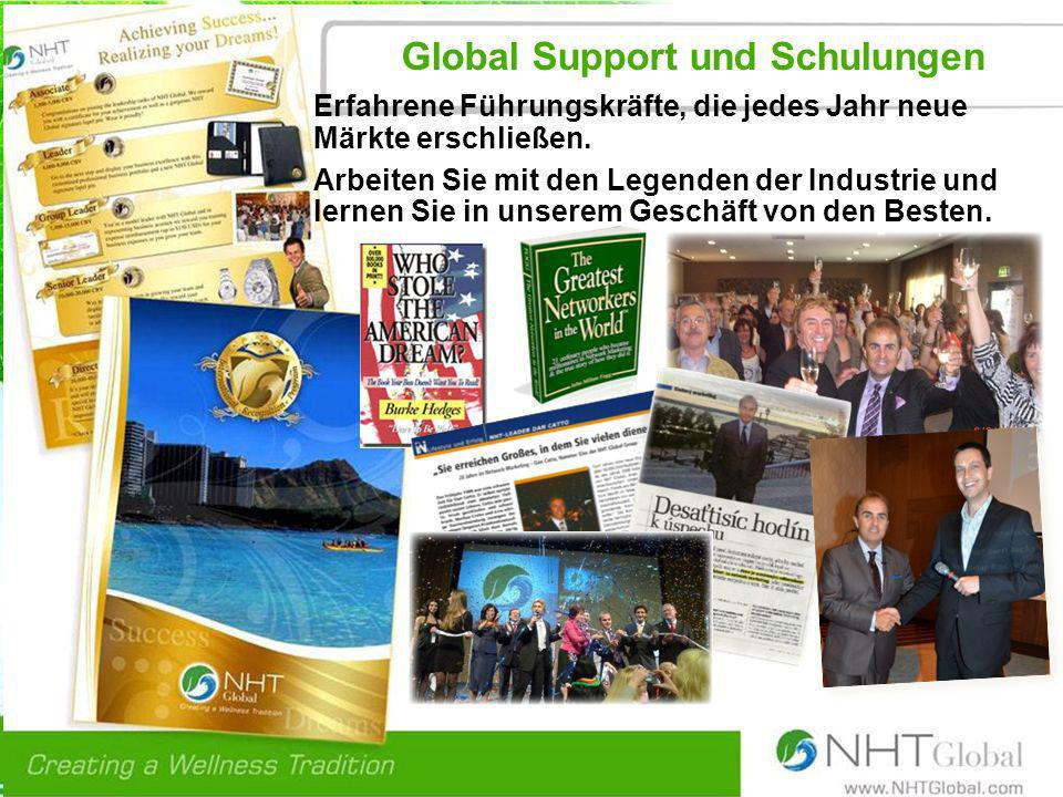 Global Support und Schulungen