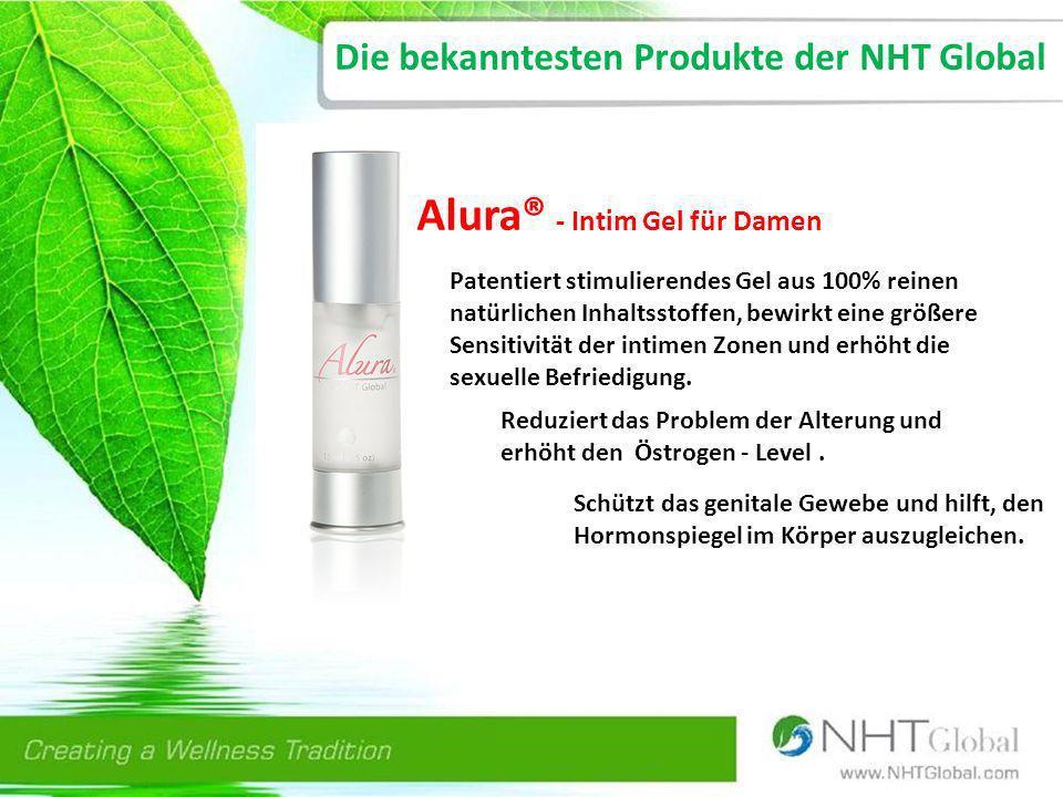 Die bekanntesten Produkte der NHT Global
