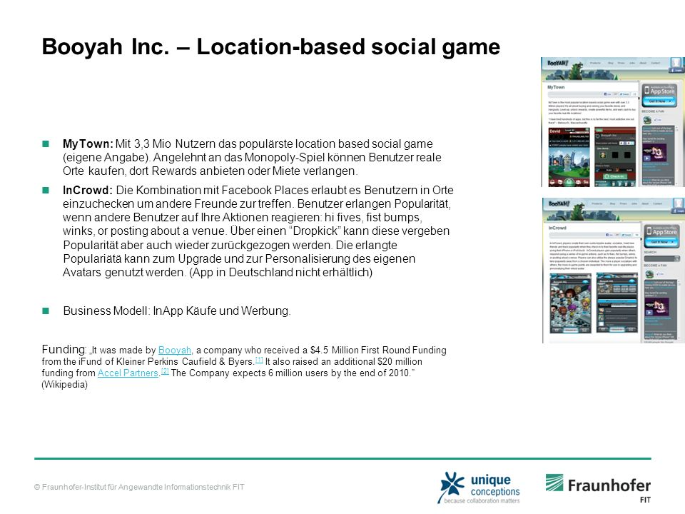 Booyah Inc. – Location-based social game