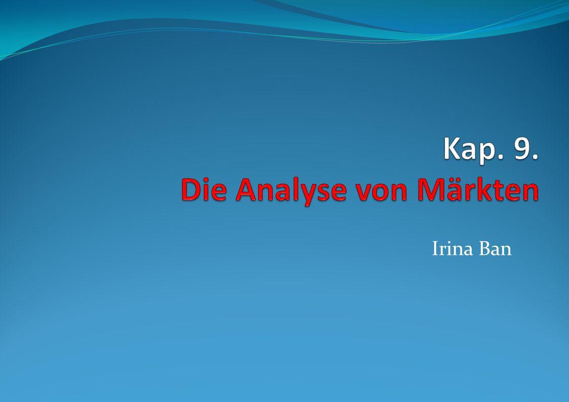 Kap. 9. Die Analyse von Märkten