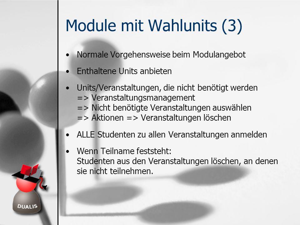 Module mit Wahlunits (3)