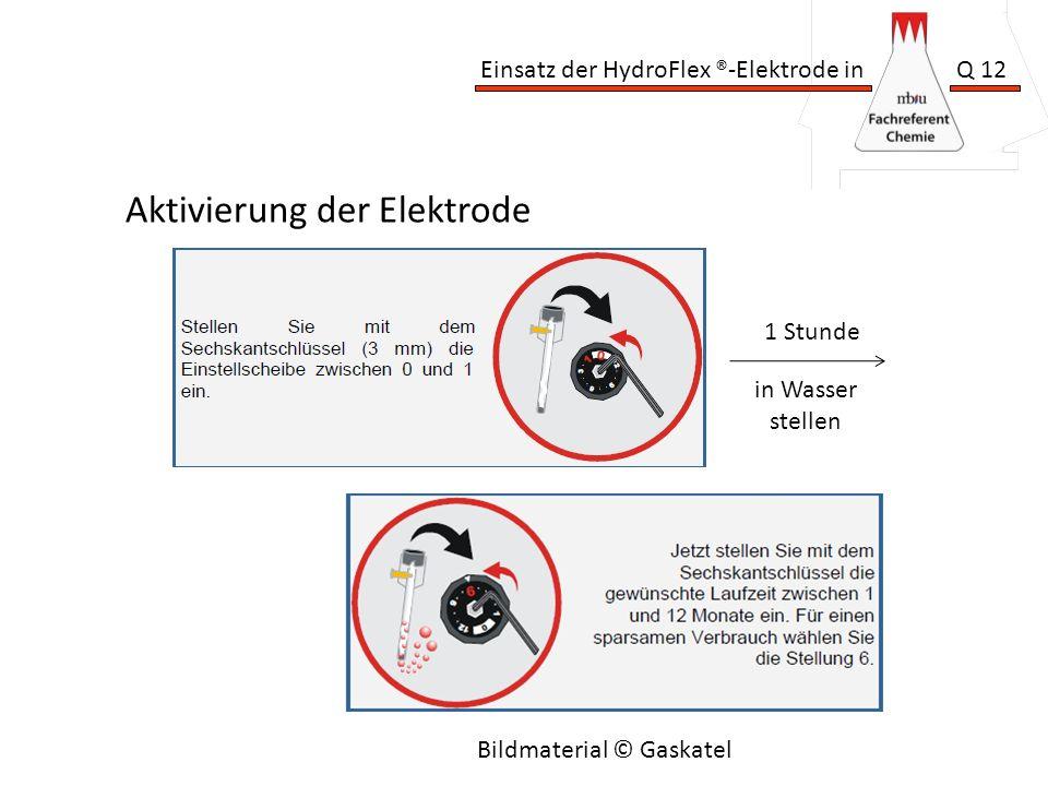 Aktivierung der Elektrode