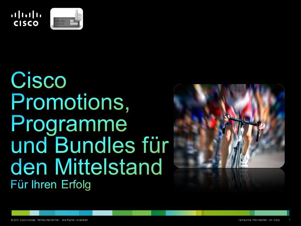 Cisco Promotions, Programme und Bundles für den Mittelstand Für Ihren Erfolg