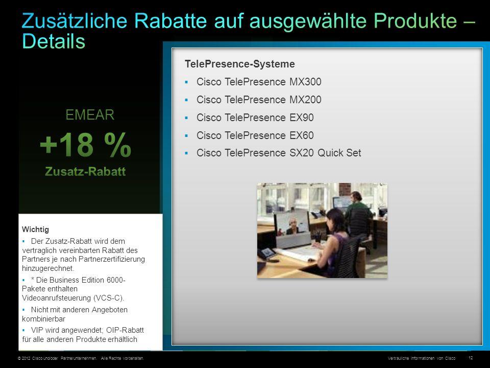 Zusätzliche Rabatte auf ausgewählte Produkte – Details
