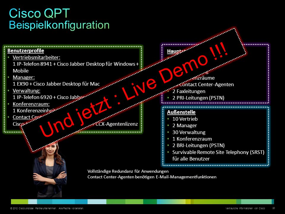 Cisco QPT Beispielkonfiguration