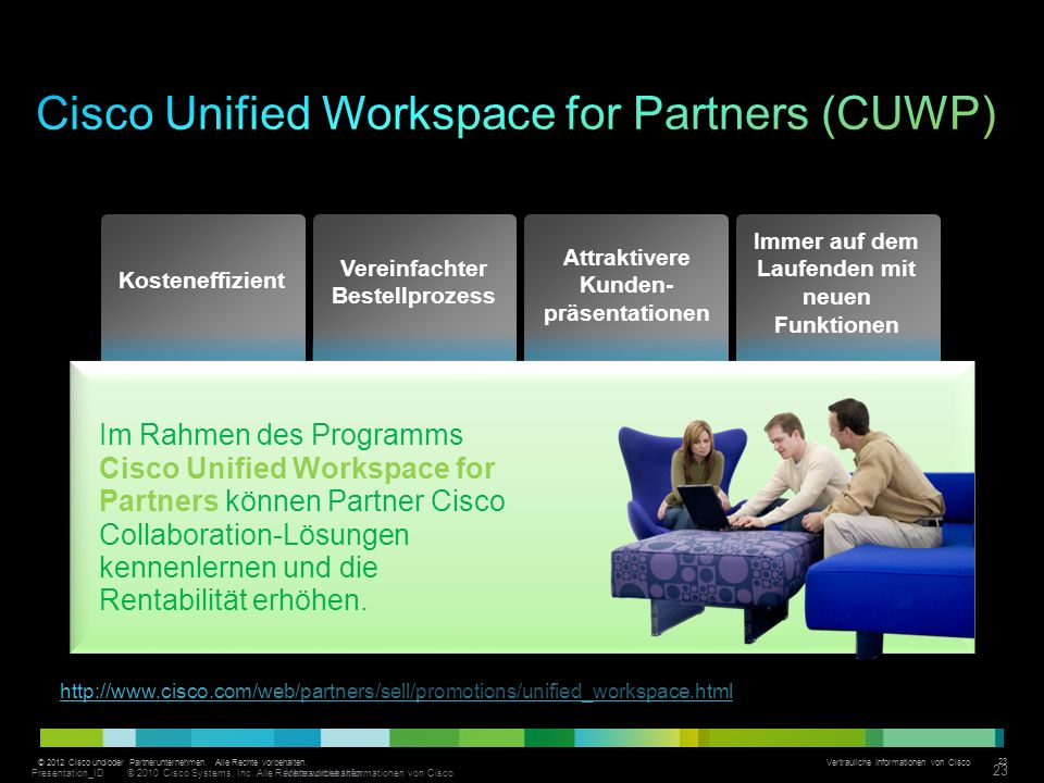 Cisco Unified Workspace for Partners (CUWP)
