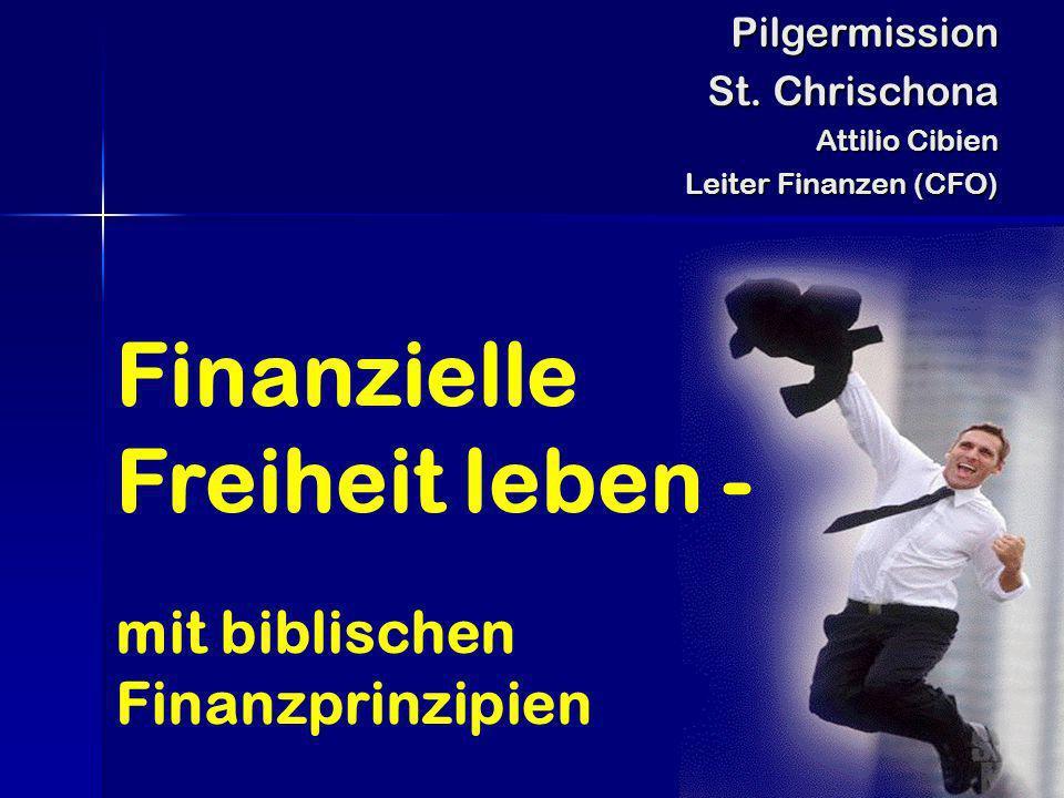 Finanzielle Freiheit leben -