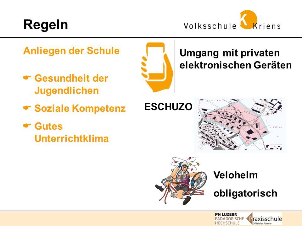 Regeln Anliegen der Schule. Umgang mit privaten elektronischen Geräten.  Gesundheit der Jugendlichen.
