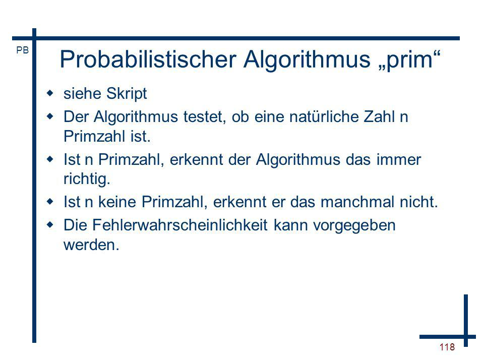 "Probabilistischer Algorithmus ""prim"
