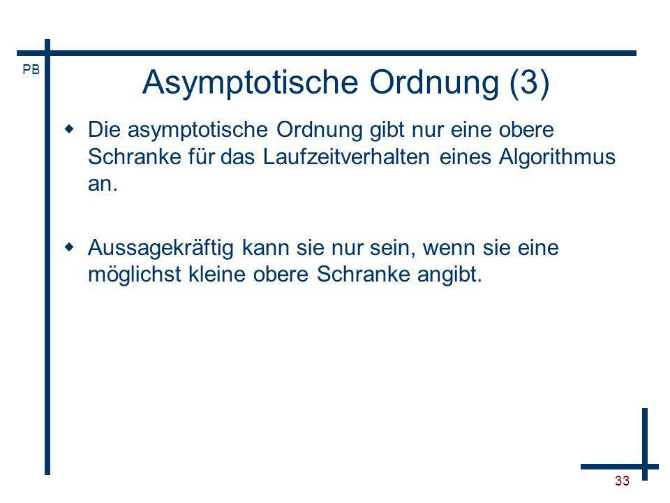 Asymptotische Ordnung (3)