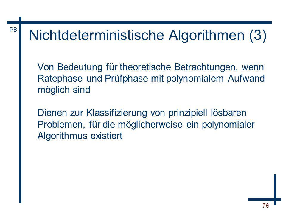 Nichtdeterministische Algorithmen (3)