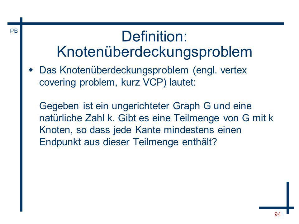Definition: Knotenüberdeckungsproblem