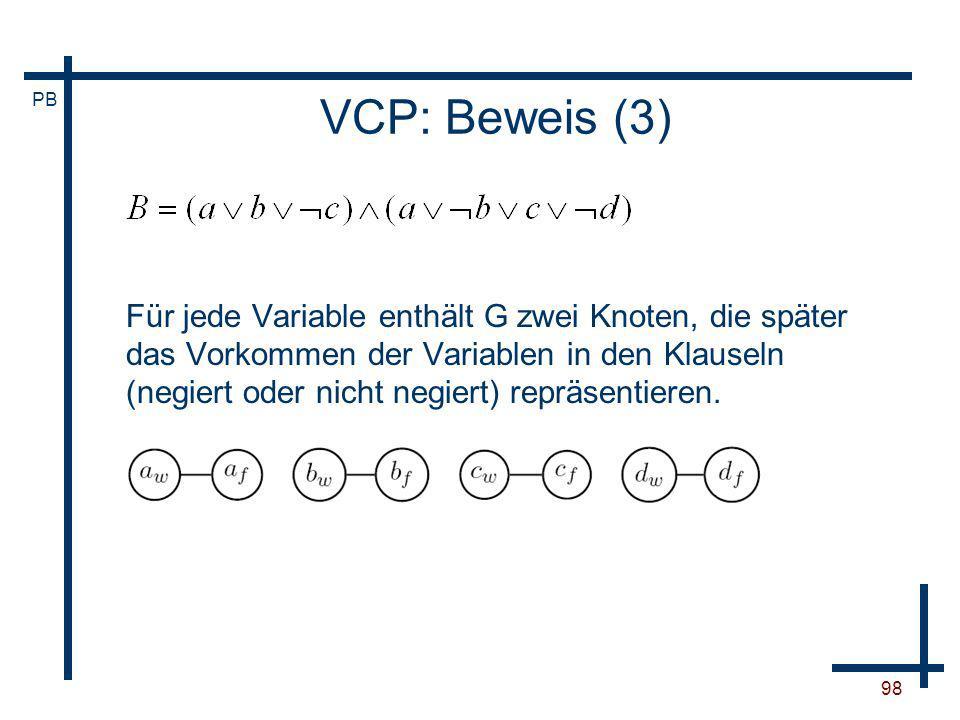 VCP: Beweis (3)