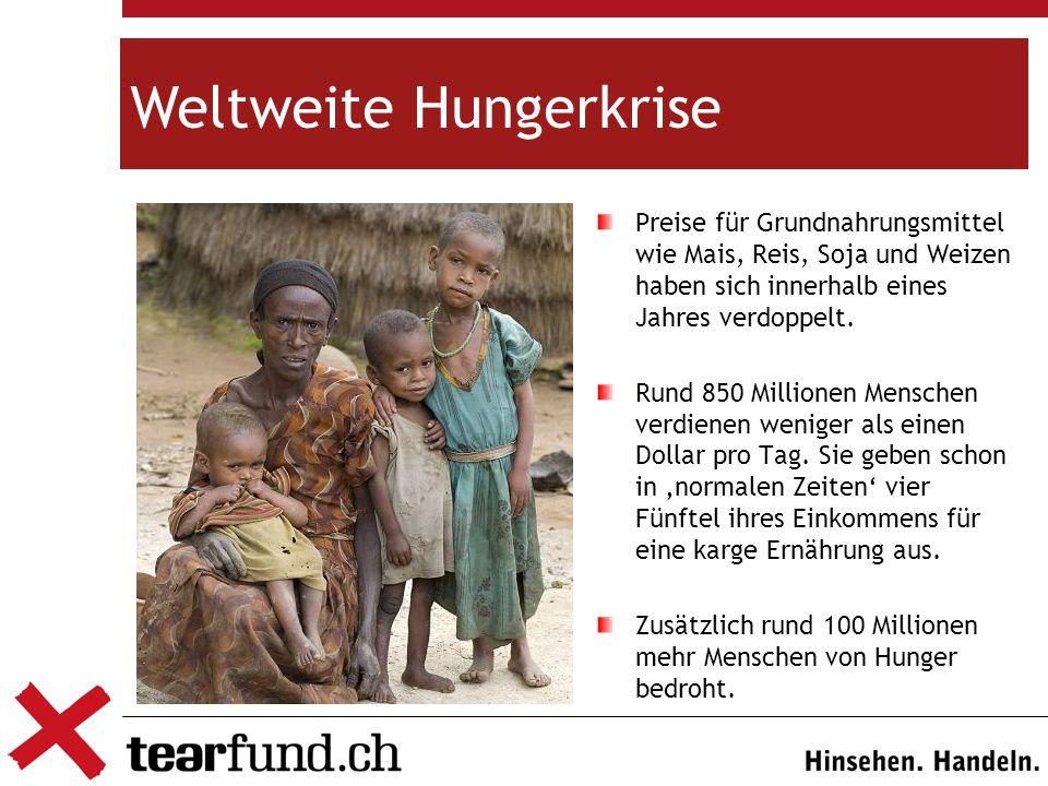 Weltweite Hungerkrise
