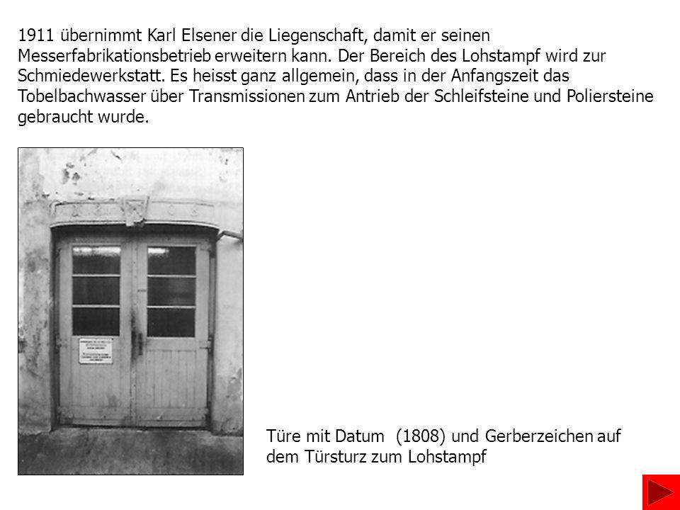 1911 übernimmt Karl Elsener die Liegenschaft, damit er seinen