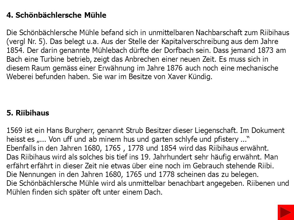 4. Schönbächlersche Mühle