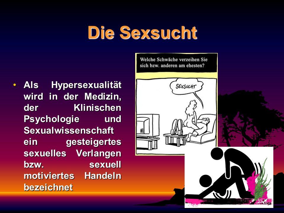 Die Sexsucht