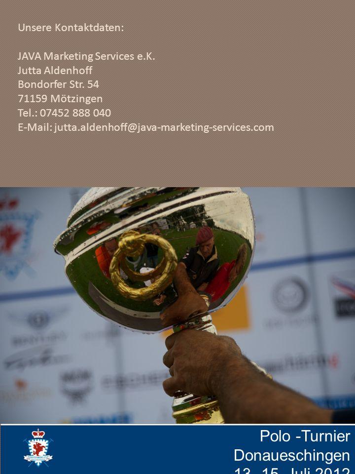 Polo -Turnier Donaueschingen 13.-15. Juli 2012