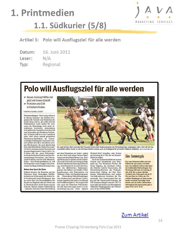 1. Printmedien 1.1. Südkurier (5/8)