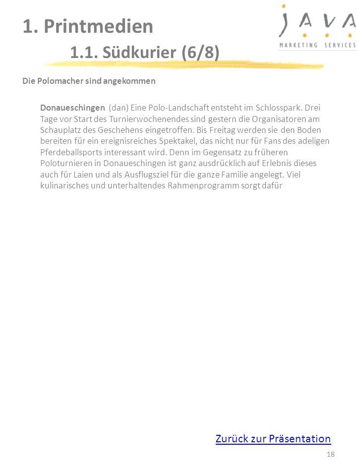 1. Printmedien 1.1. Südkurier (6/8)