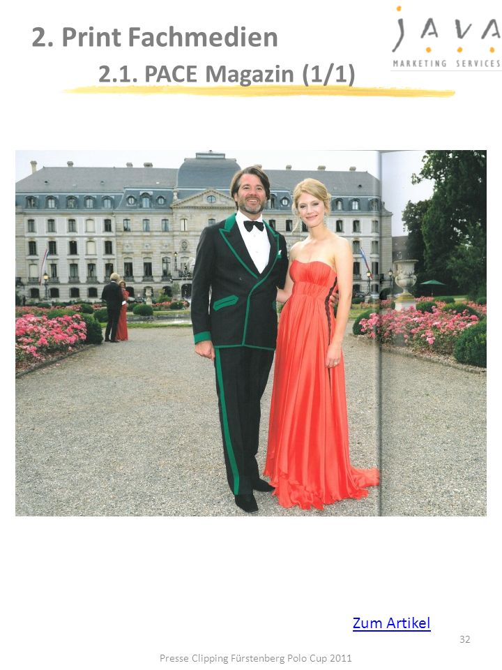 2. Print Fachmedien 2.1. PACE Magazin (1/1)