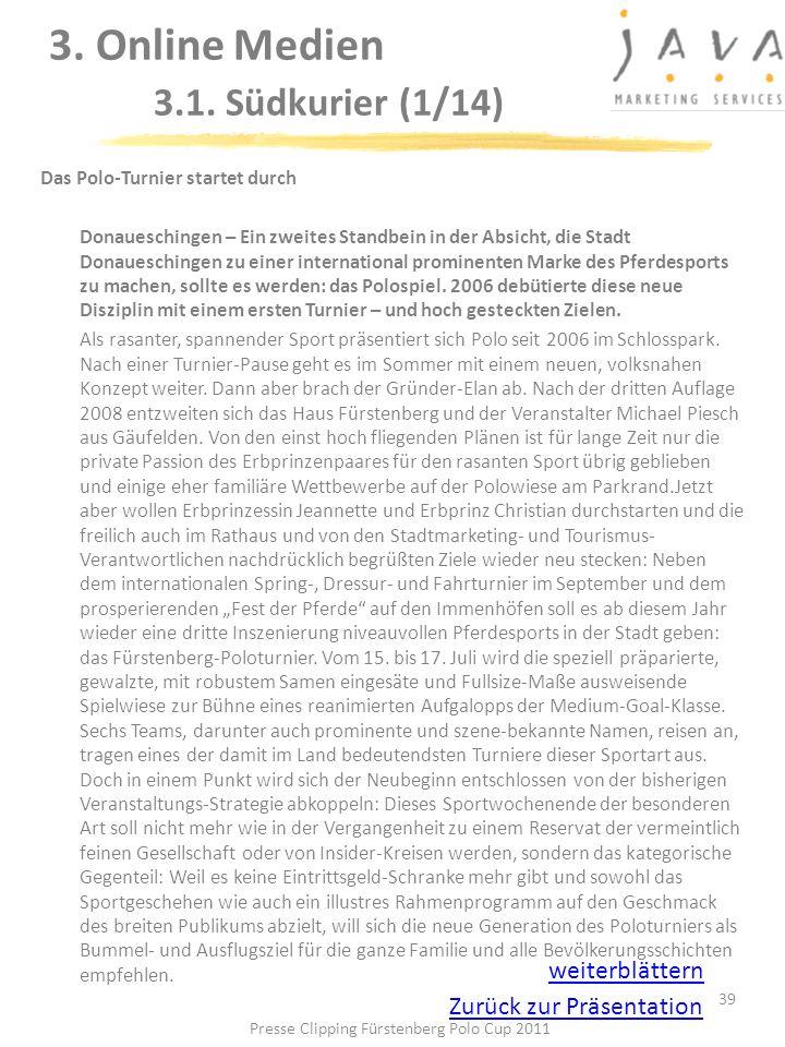 3. Online Medien 3.1. Südkurier (1/14)