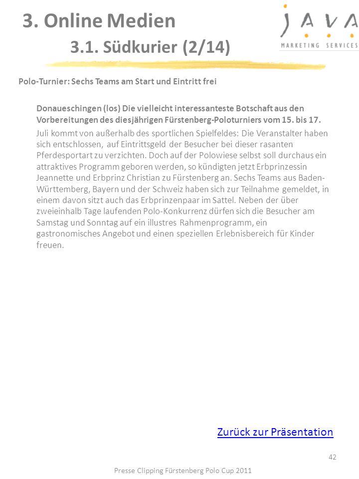 3. Online Medien 3.1. Südkurier (2/14)