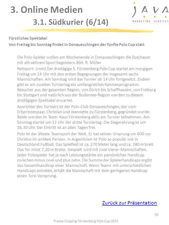 3. Online Medien 3.1. Südkurier (6/14)
