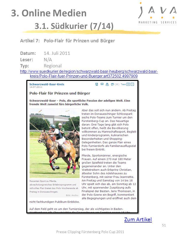 3. Online Medien 3.1. Südkurier (7/14)