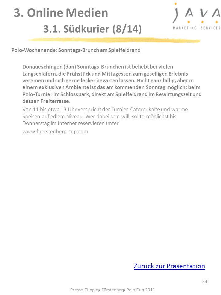3. Online Medien 3.1. Südkurier (8/14)