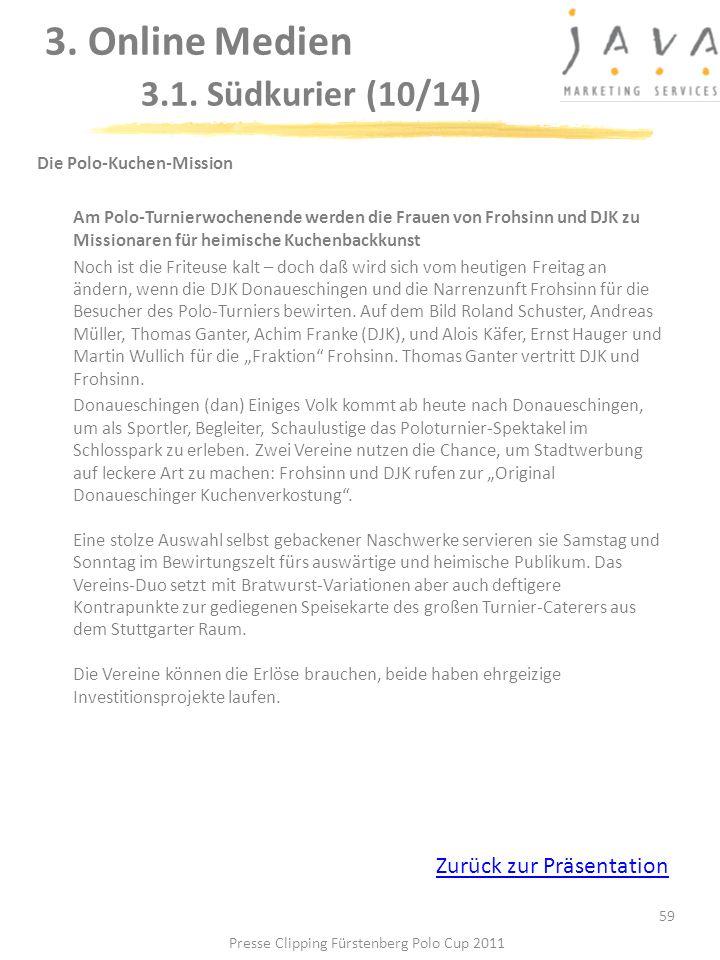 3. Online Medien 3.1. Südkurier (10/14)
