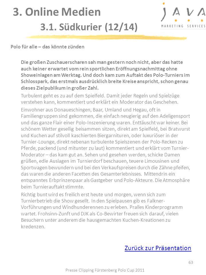 3. Online Medien 3.1. Südkurier (12/14)