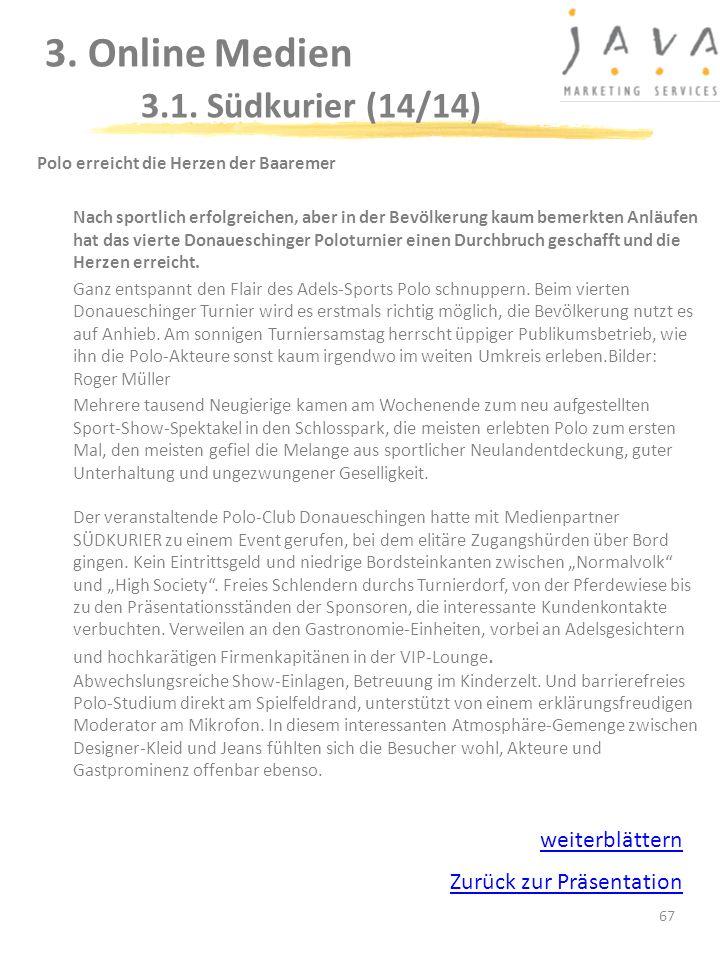 3. Online Medien 3.1. Südkurier (14/14)