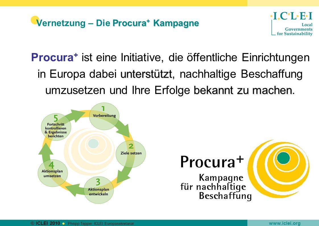 Vernetzung – Die Procura+ Kampagne
