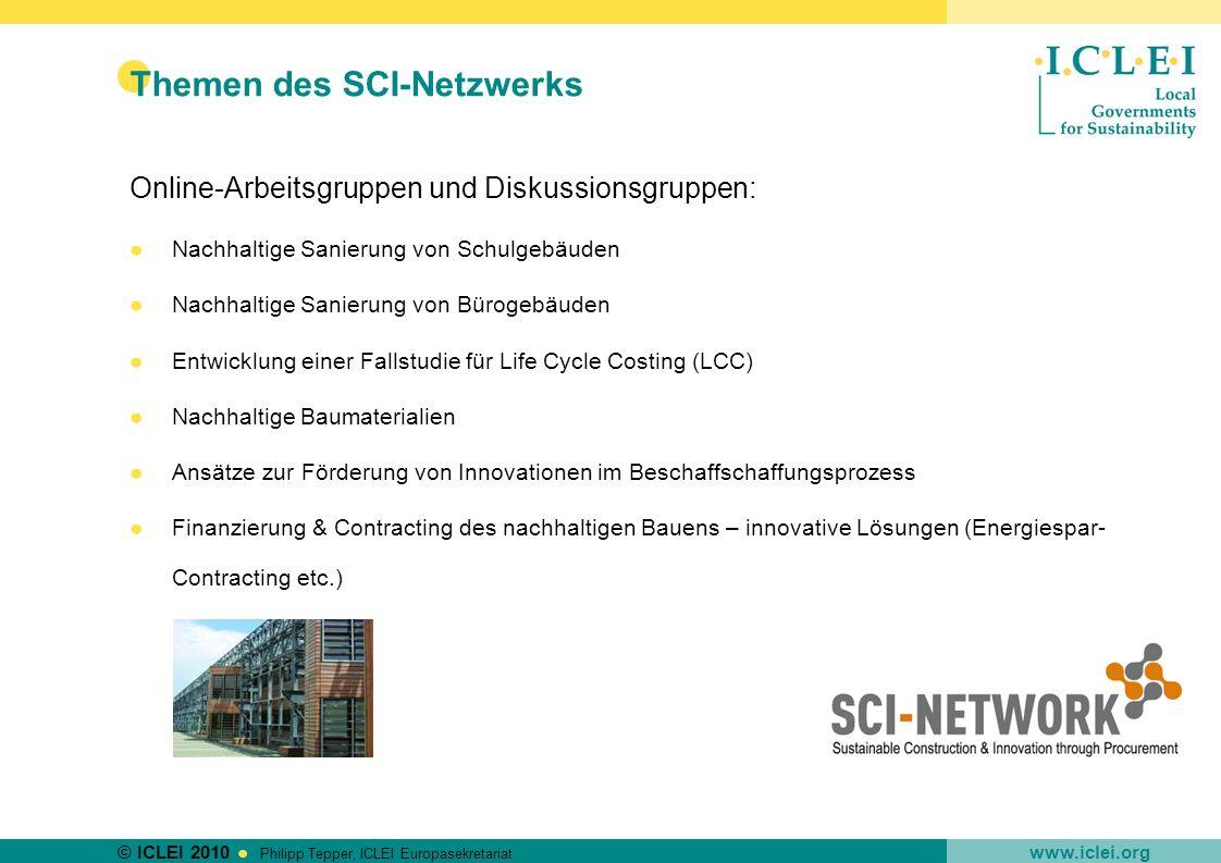 Themen des SCI-Netzwerks