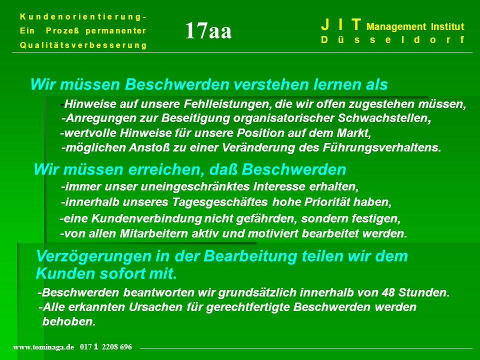 17aa J I T Management Institut Düsseldorf
