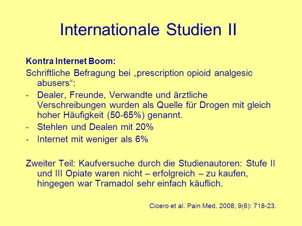 Internationale Studien II