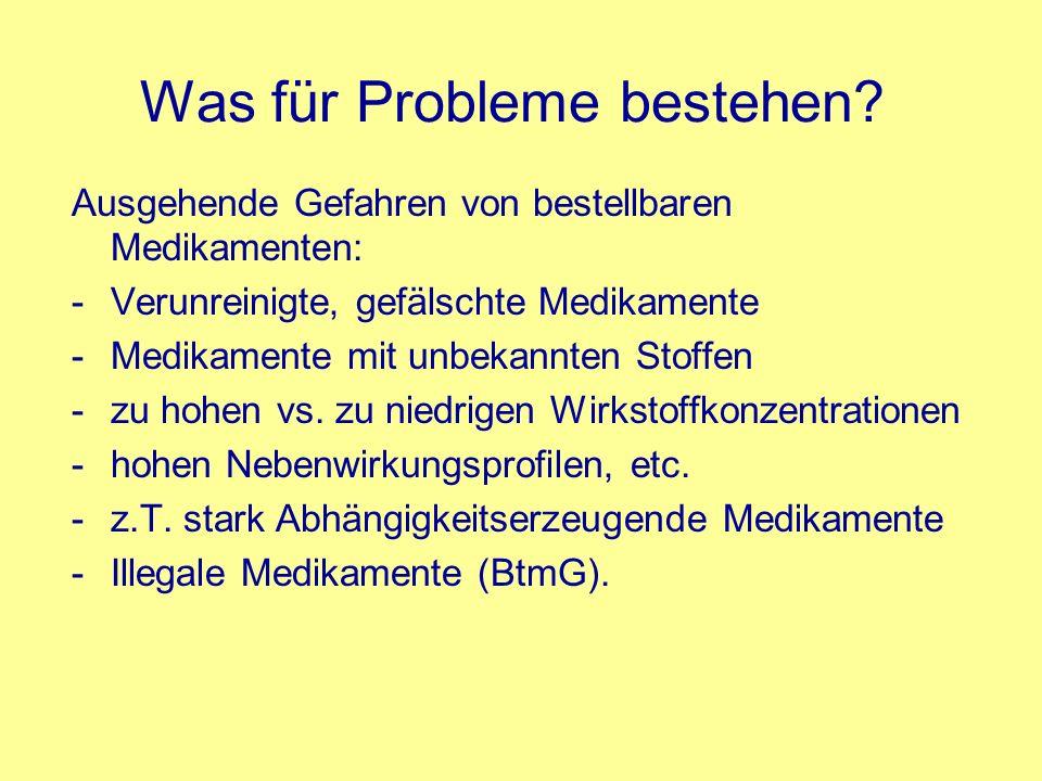 Was für Probleme bestehen