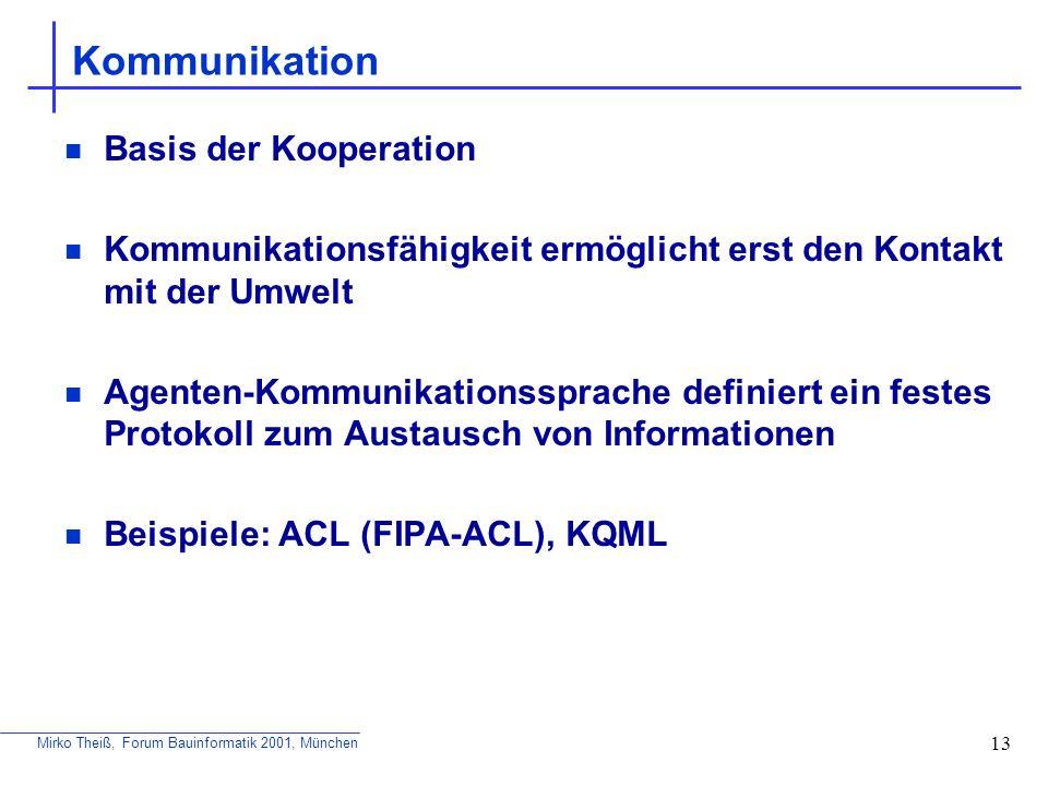 Kommunikation Basis der Kooperation