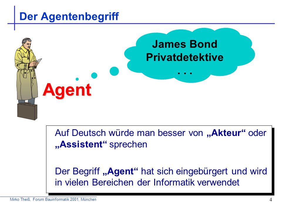 Agent Der Agentenbegriff James Bond Privatdetektive . . .