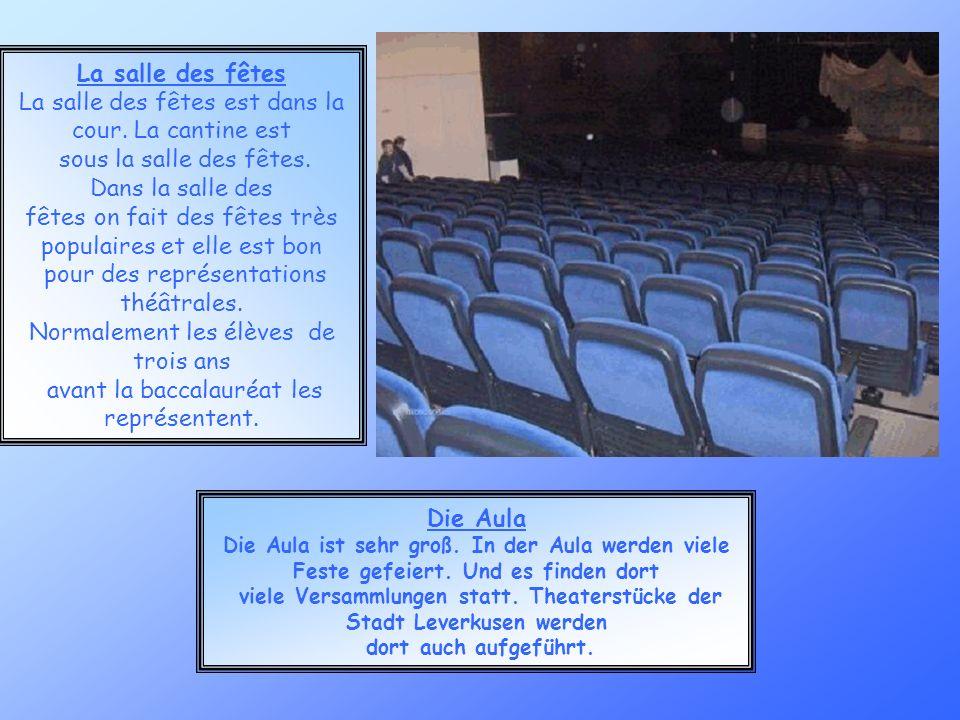 viele Versammlungen statt. Theaterstücke der Stadt Leverkusen werden