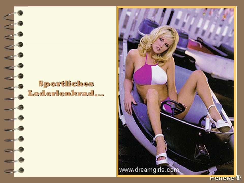 Sportliches Lederlenkrad...