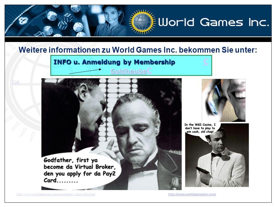 Weitere informationen zu World Games Inc. bekommen Sie unter: