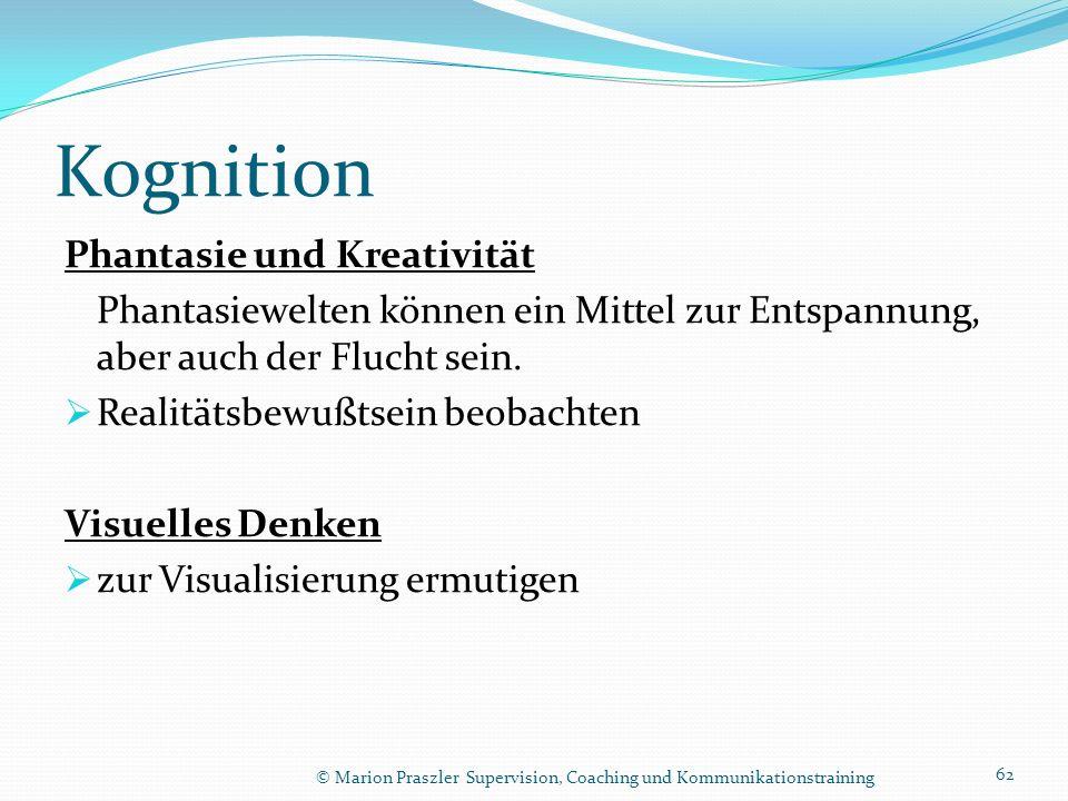 Kognition Phantasie und Kreativität
