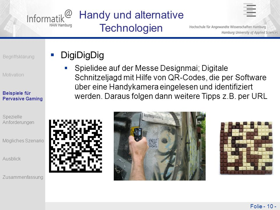 Handy und alternative Technologien