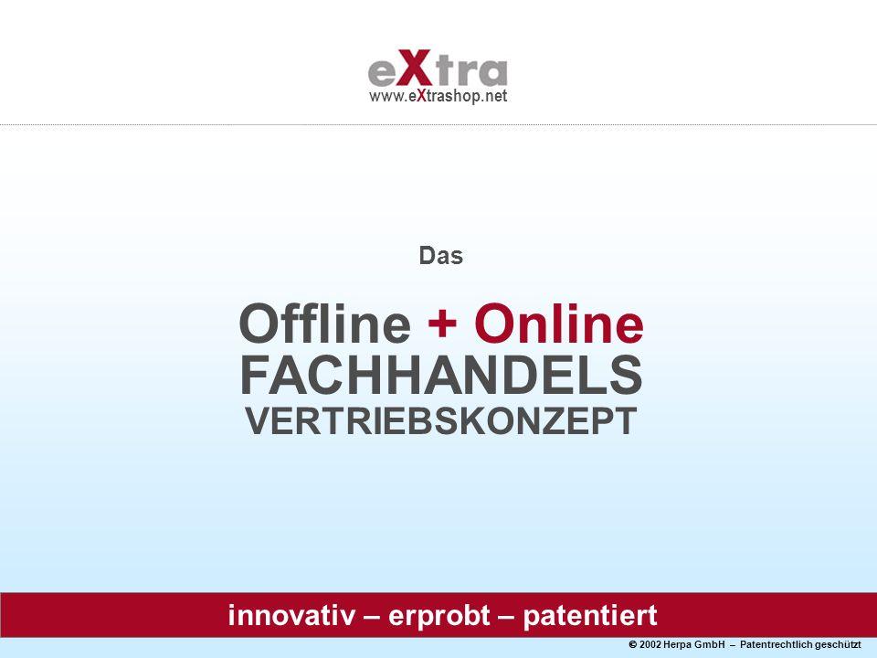 Offline + Online FACHHANDELS VERTRIEBSKONZEPT