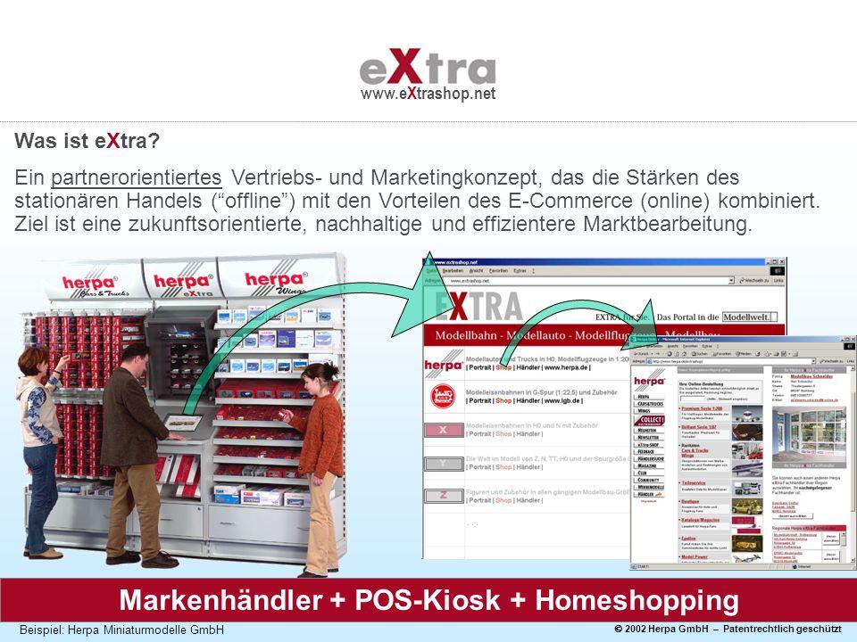 Markenhändler + POS-Kiosk + Homeshopping