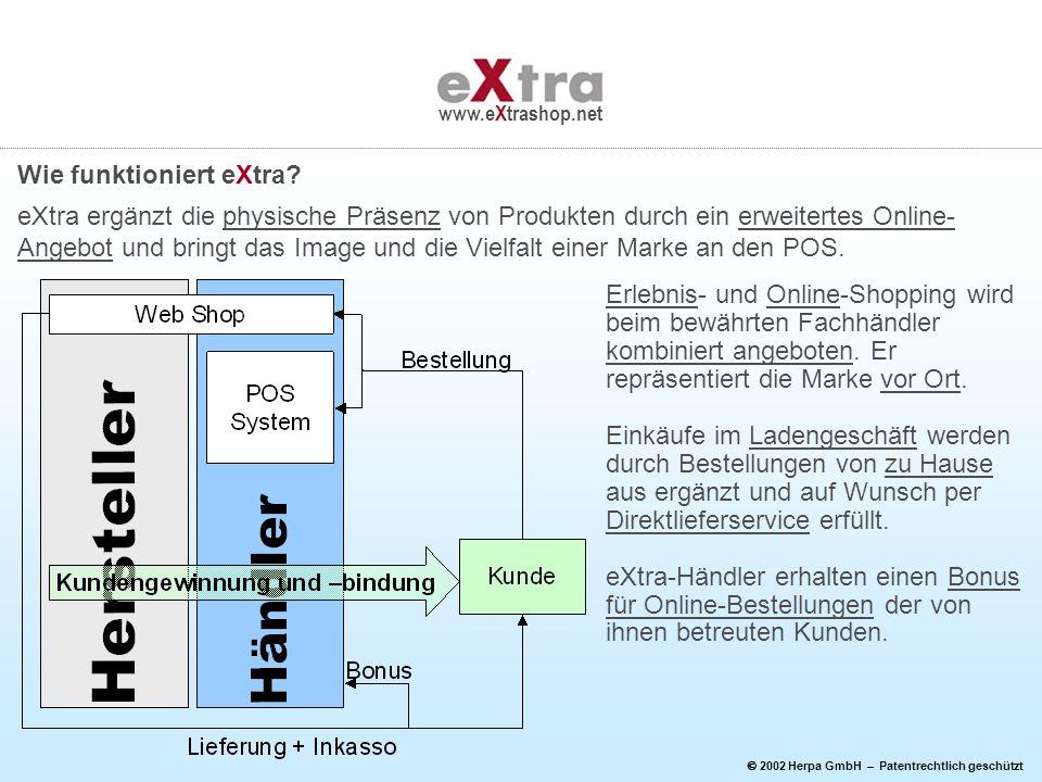 Wie funktioniert eXtra